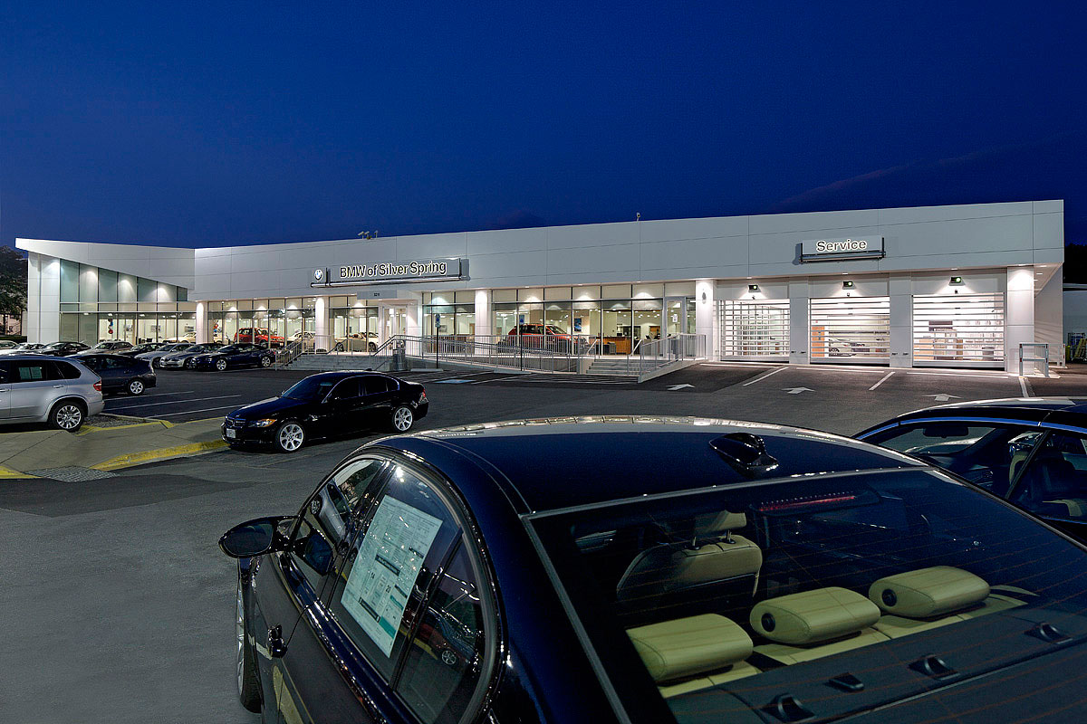 Mcgeorge Toyota Service >> BMW OF SILVER SPRING - Penney Design Group