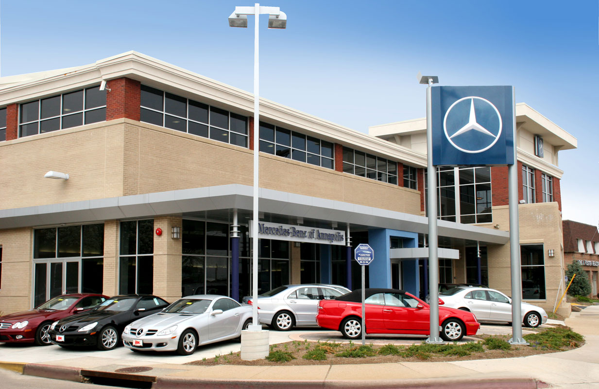Penney design group architecture planning interiors for Mercedes benz annapolis