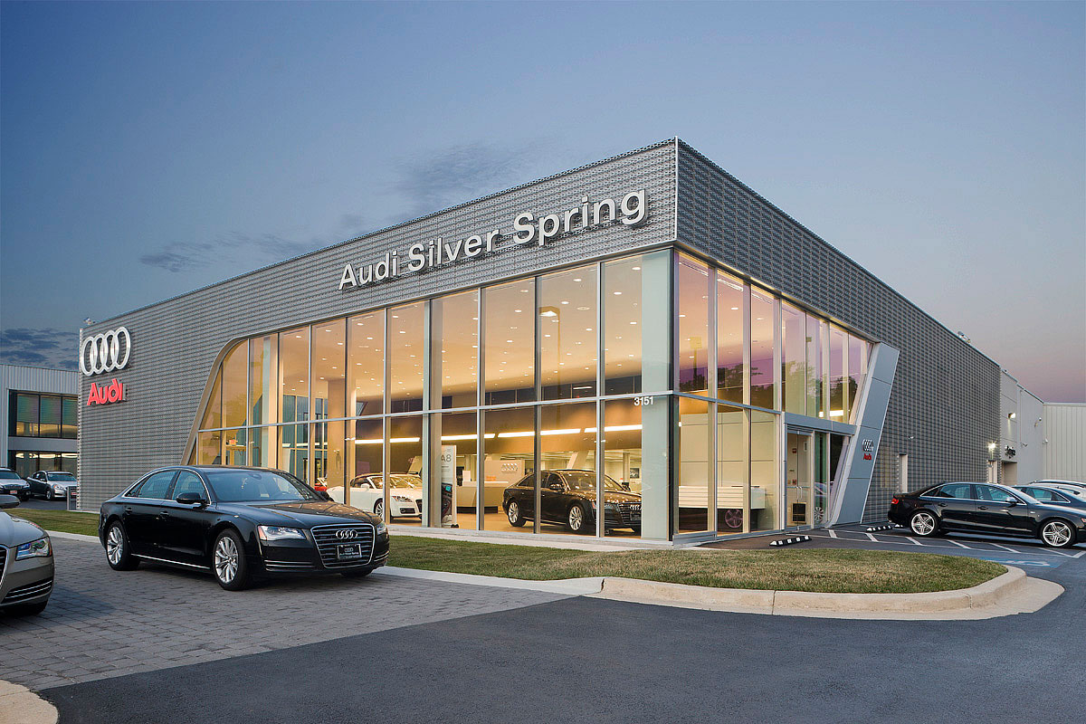 Porsche Of Towson >> AUDI OF SILVER SPRING - Penney Design Group