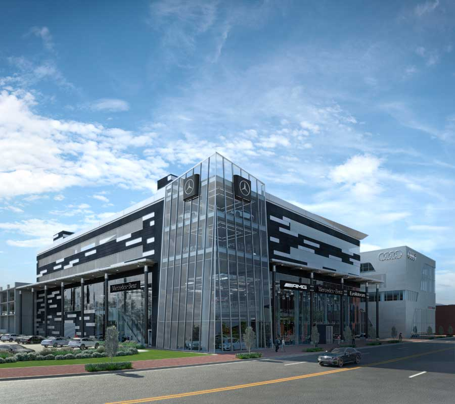 Euromotorcars mercedes benz of bethesda redevelopment for Mercedes benz of germantown md