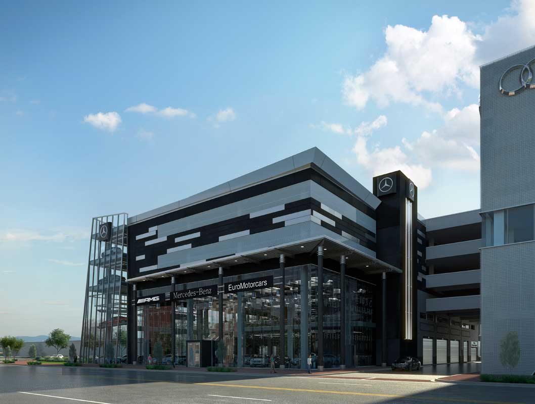 Good EUROMOTORCARS MERCEDES BENZ OF BETHESDA   REDEVELOPMENT   Penney Design  Group
