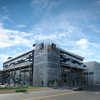 Penney design group architecture planning interiors for Mercedes benz euro motorcars germantown