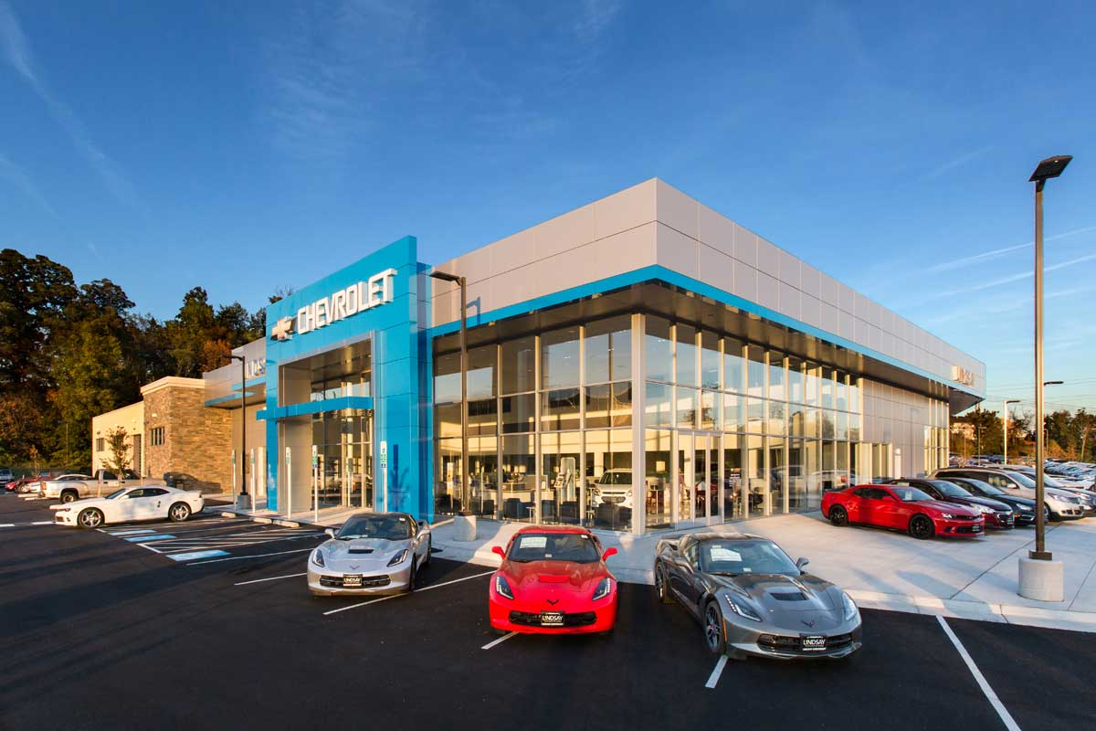 Bmw Of Towson >> LINDSAY CHEVROLET - Penney Design Group