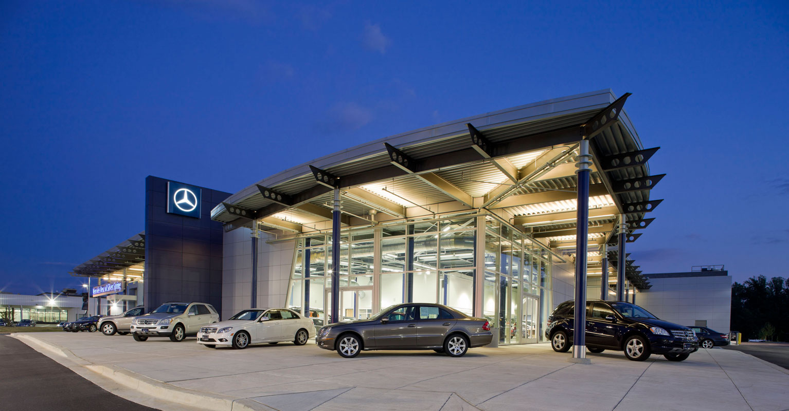 Mercedes Benz Dealership >> MERCEDES-BENZ OF SILVER SPRING - Penney Design Group