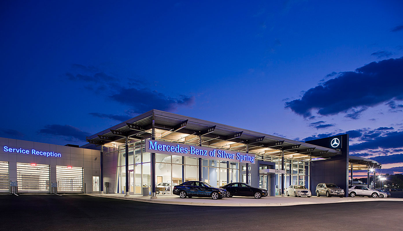 Penney design group architecture planning interiors for Mercedes benz service annapolis md