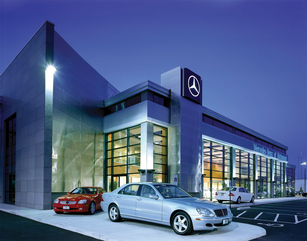 Mcgeorge mercedes benz penney design group for Mercedes benz richmond