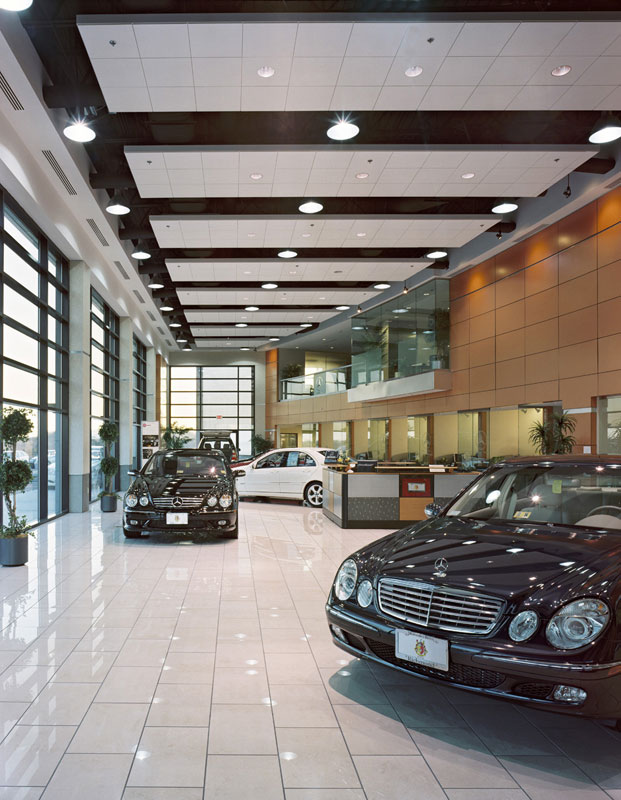 mcgeorge mercedes benz penney design group On richmond mercedes benz service