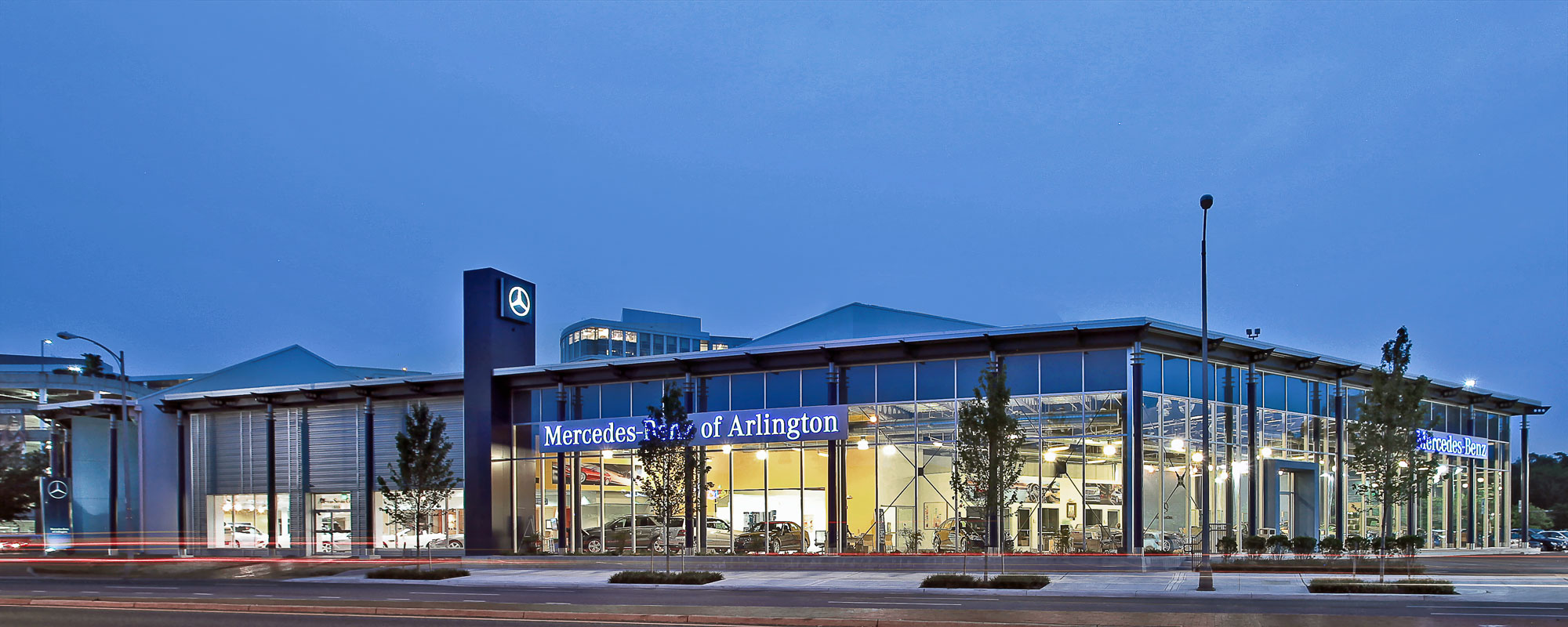 mercedes benz of arlington penney design group