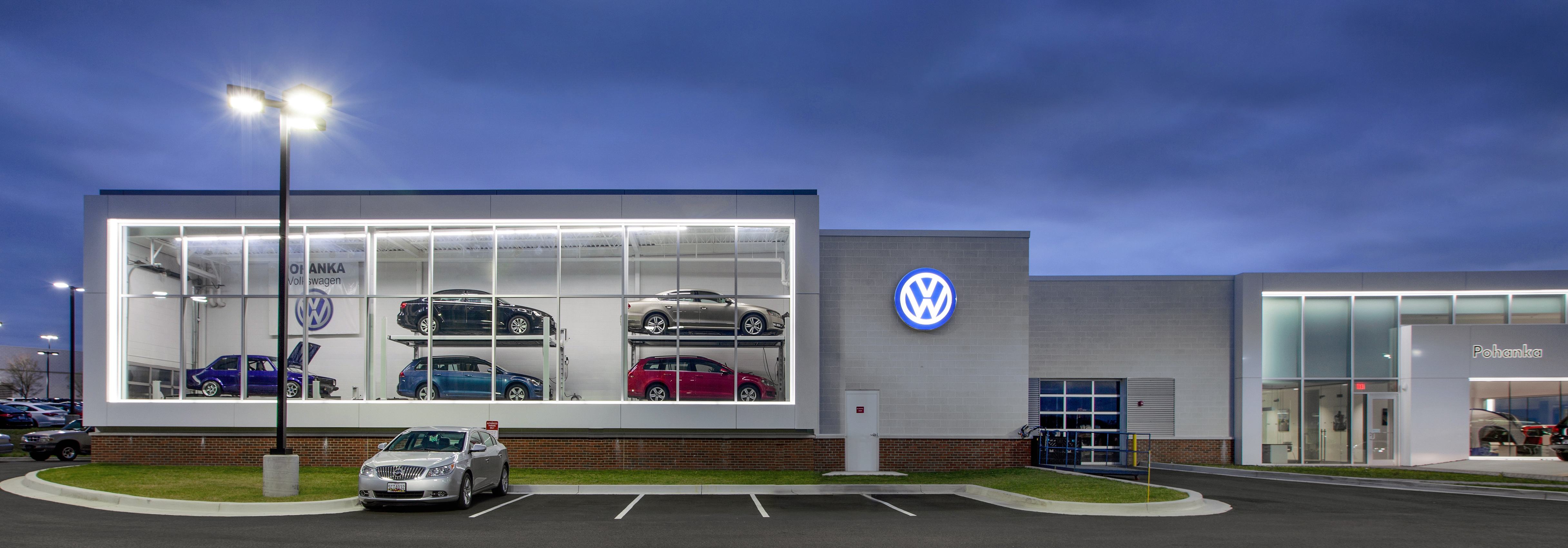 Porsche Of Towson >> POHANKA VW RITCHIE STATION - Penney Design Group