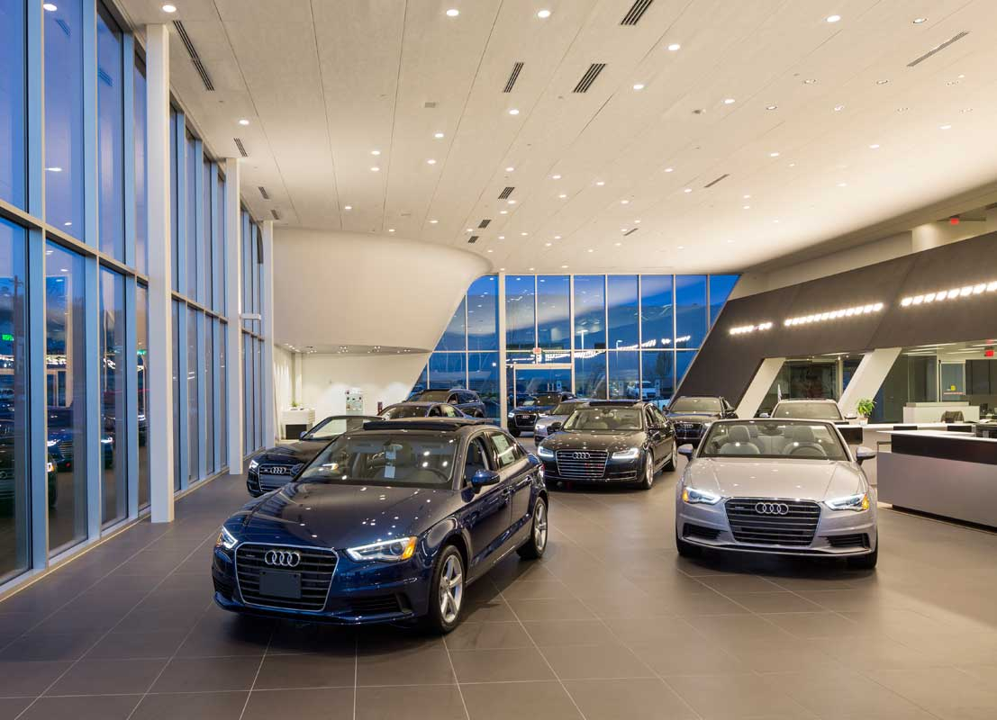 Bmw Of Towson >> YBH AUDI - Penney Design Group