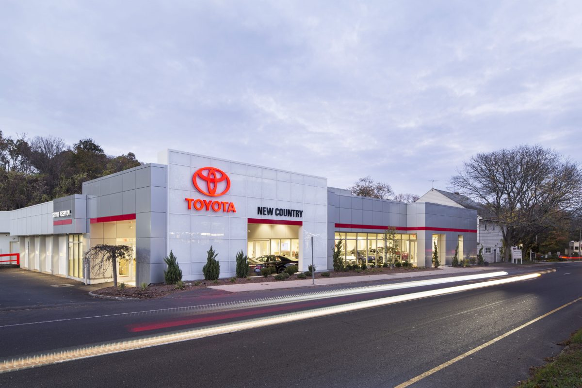 New Country Toyota Of Westport Penney Design Group